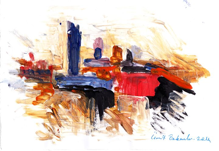 abstract city 12 - Ümit ÖZKANLI