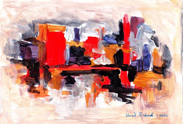 abstract city 9 - Ümit ÖZKANLI