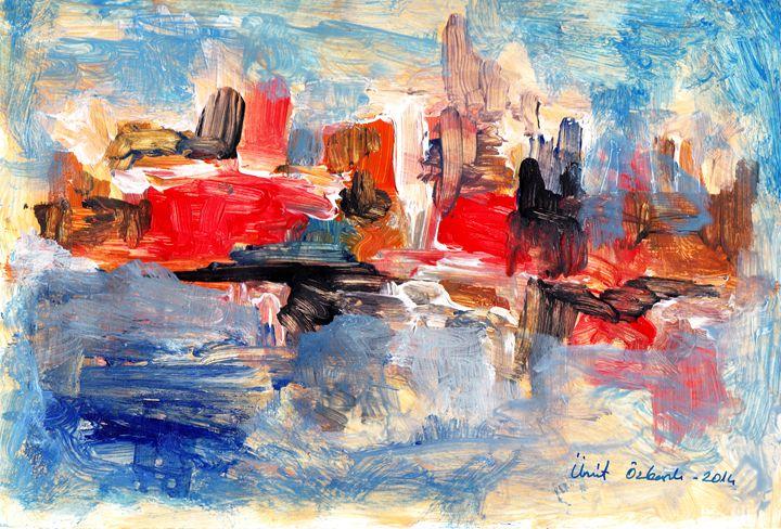 abstract city 8 - Ümit ÖZKANLI