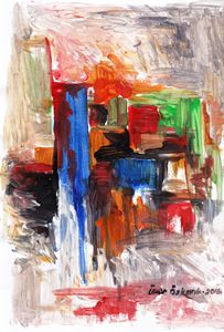 abstract city 7