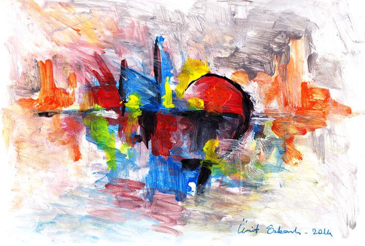abstract city 6 - Ümit ÖZKANLI