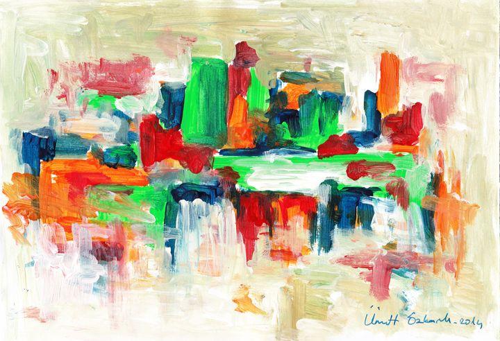abstract city4 - Ümit ÖZKANLI