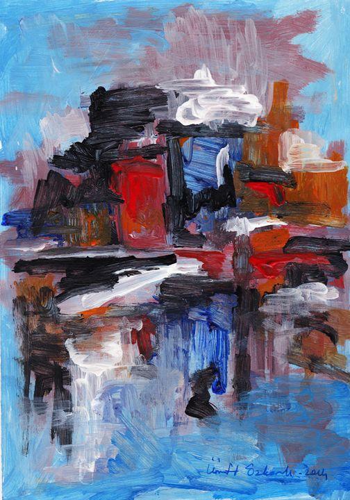abstract city 3 - Ümit ÖZKANLI