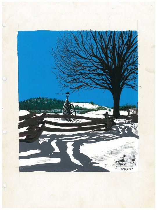 """"""" Moonlight Ranch """" - R. TORRES  GALLERY"""