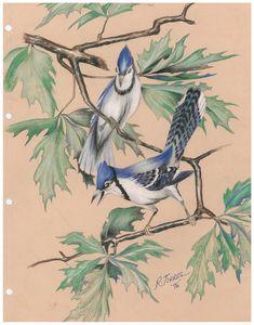 "'' 2 blue birds """