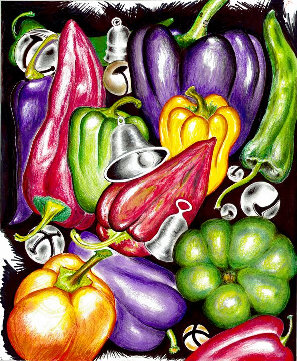 '' BELLS and PEPPERS '' - R. TORRES  GALLERY