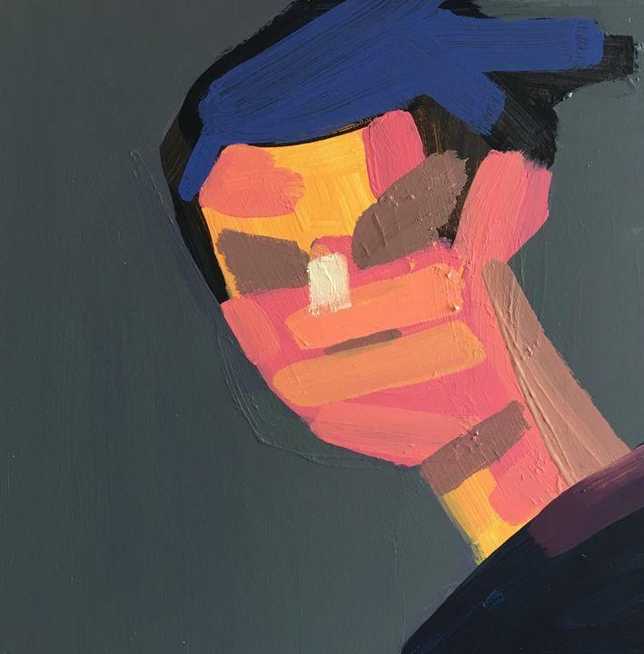 Distance Portrait IX - bil Chamberlin