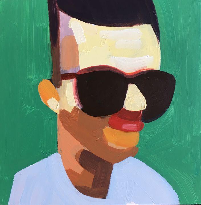Distance Portrait IV - bil Chamberlin