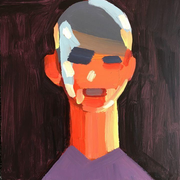 Distance Portrait III - bil Chamberlin