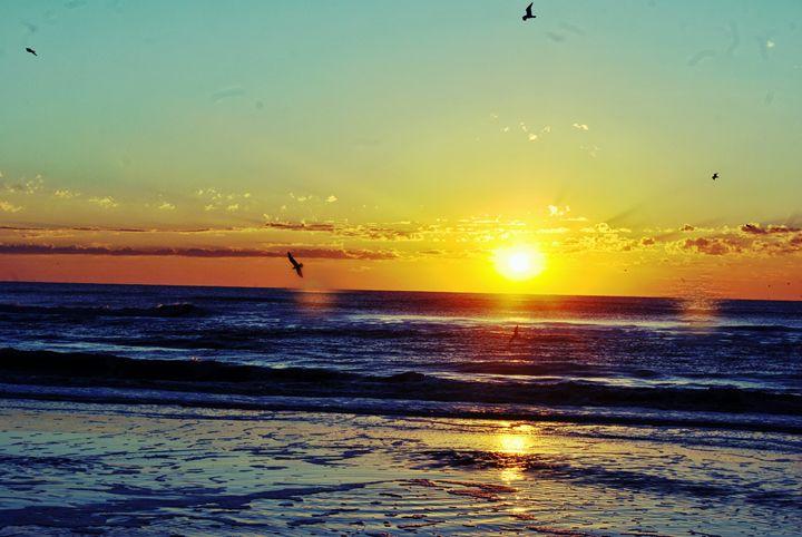 Sun and water - Reid