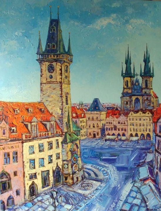 Prague: City Center - Arjun Sindhav