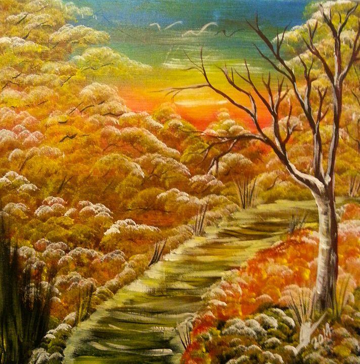 Autumn - Kelvin's Art Studio