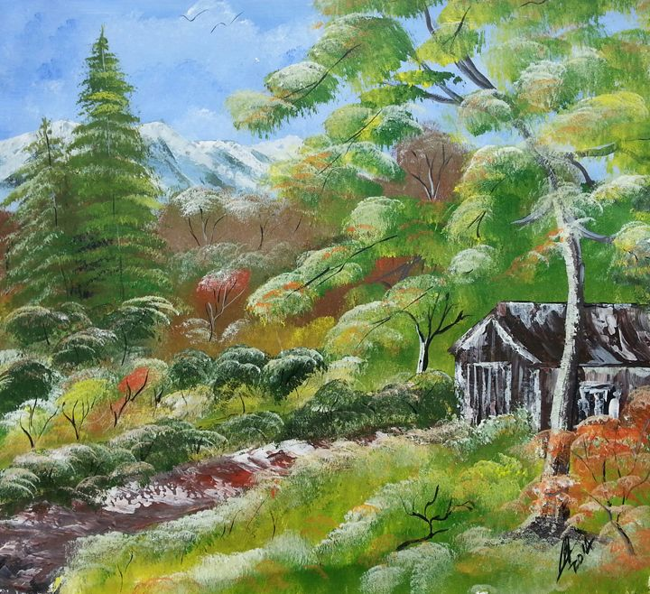 Barn House - Kelvin's Art Studio