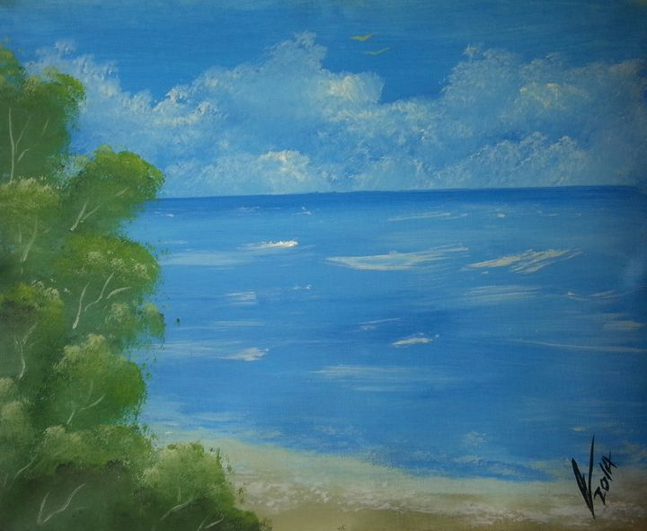 Beach - Kelvin's Art Studio
