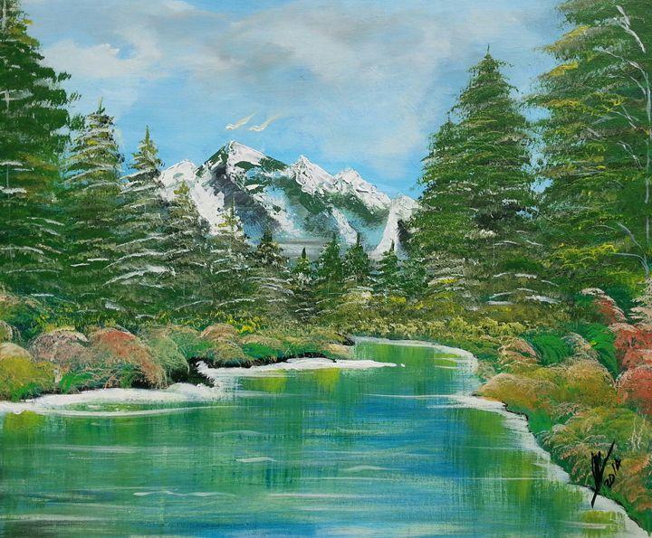 Mystic Mountains - Kelvin's Art Studio