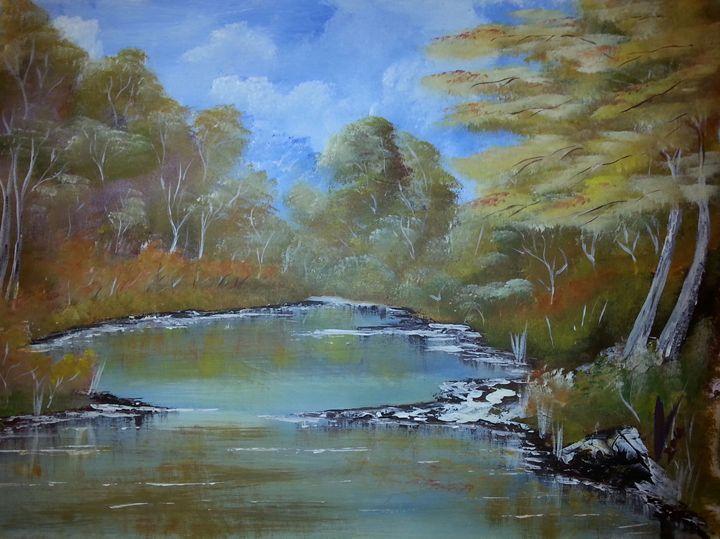 Autumn Bliss - Kelvin's Art Studio