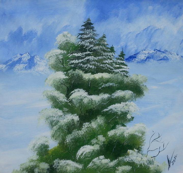 Winter Snow - Kelvin's Art Studio