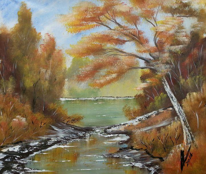 Still Water - Kelvin's Art Studio
