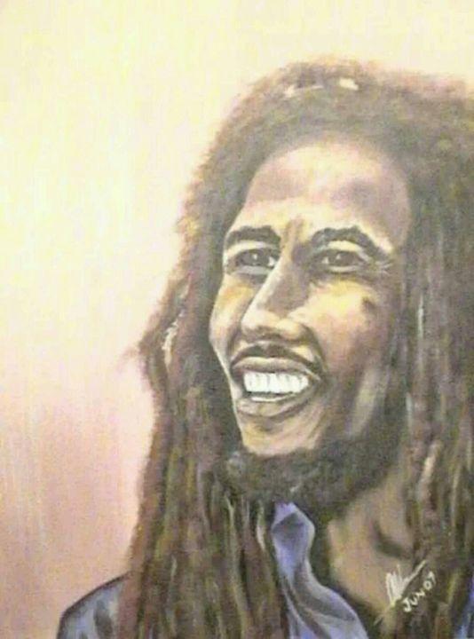Bob Marley - Kelvin's Art Studio