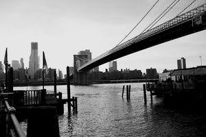 Brooklyn Bridge at DUMBO