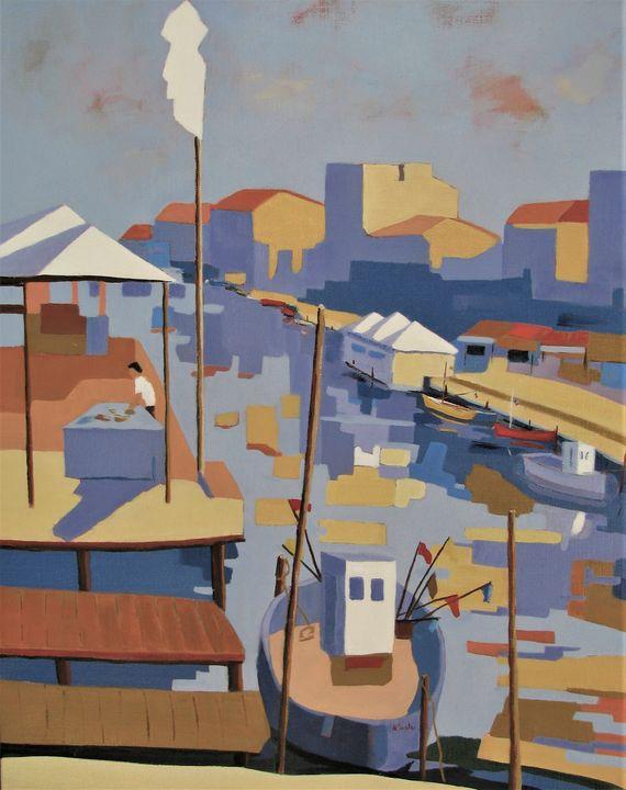 Palavas les Flots - Jean-Noël Le Junter's paintings