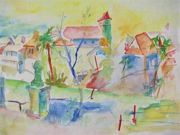 Salies de Béarn - Jean-Noël Le Junter's paintings