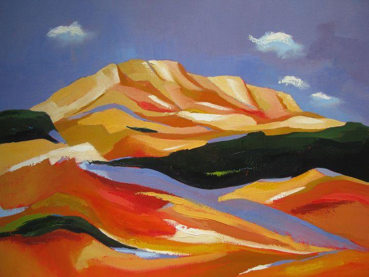 La Montagne Sainte-Victoire - Jean-Noël Le Junter's paintings
