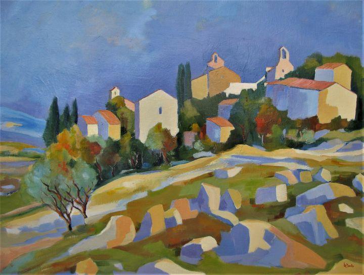 Village in Provence - Jean-Noël Le Junter's paintings