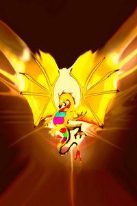 Gold Lucky Dragon