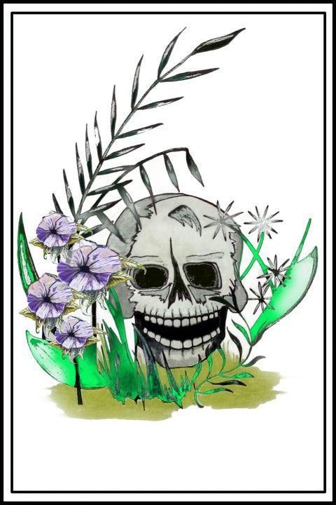 Garden Skull - Gryan1569