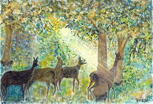Adorable deers