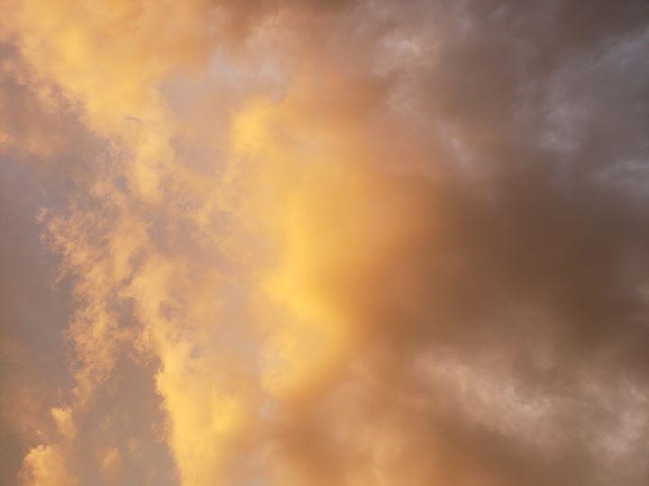 Sunset sky - Hidden Mouse Art