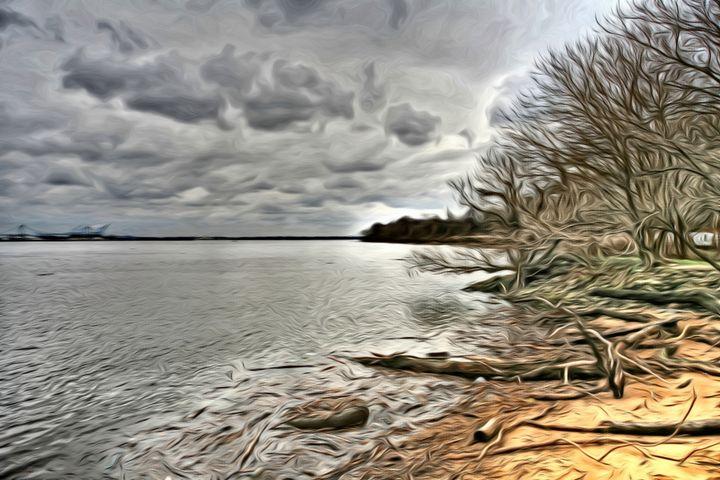 Cloudy River - MacPherson