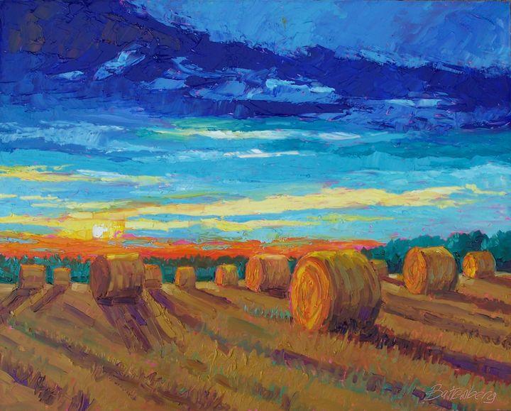 Sunset Shadows - Battenberg Gallery