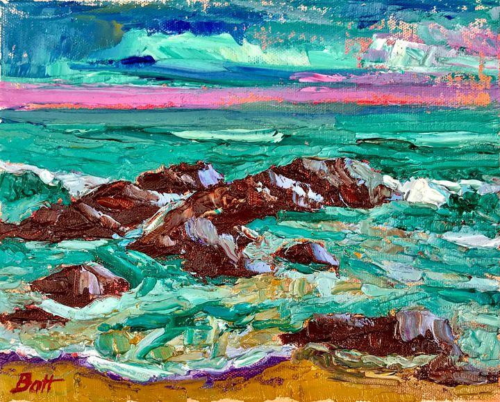 Pink Horizon (SOLD) - Battenberg Gallery