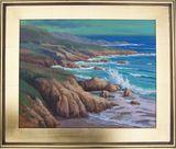 original framed oil on canvas