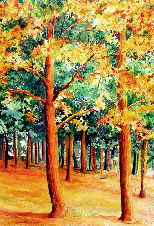 Golden Forest- - Su Stella