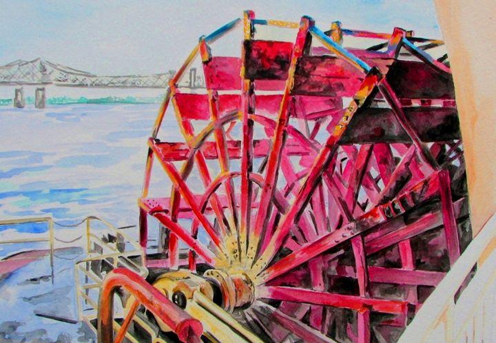 Red Paddle Wheel - Su Stella