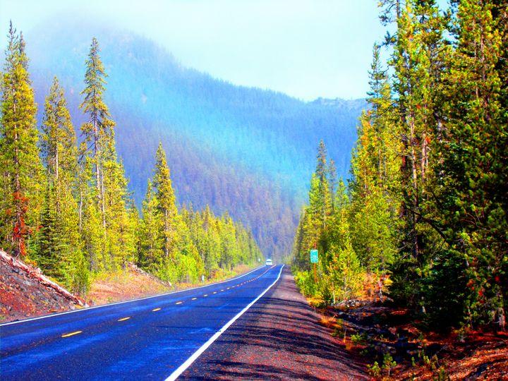 Rainbow Road -Oregon - Su Stella