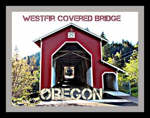 Westfir Office Covered Bridge