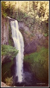 Salt Creek Falls, Hwy 58  Oregon