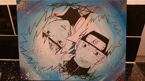 Minato and Naruto, -Sold-