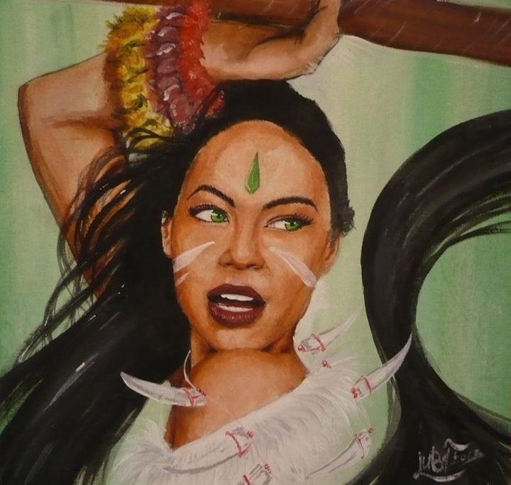 Nidalee Painting On Canvas - LubigaArt