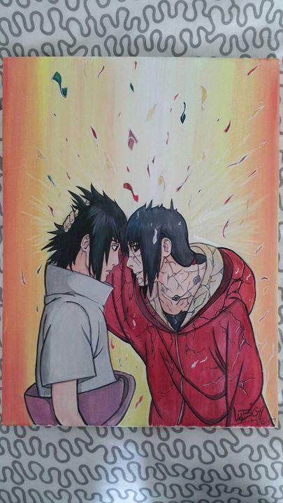 Sasuke and Itachi - LubigaArt