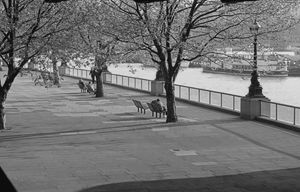 The River Thames Embankment Walkway