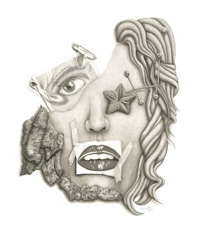'Self Portrait' - Mercedes Victoria