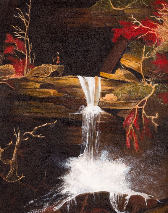 The Fall of Kaaterskill by Thomas Co - Chingyeng's Art