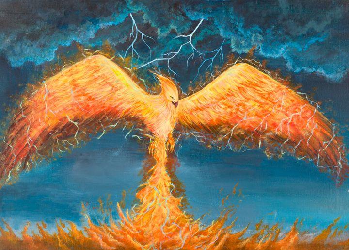 Lightning Phoenix - Chingyeng's Art