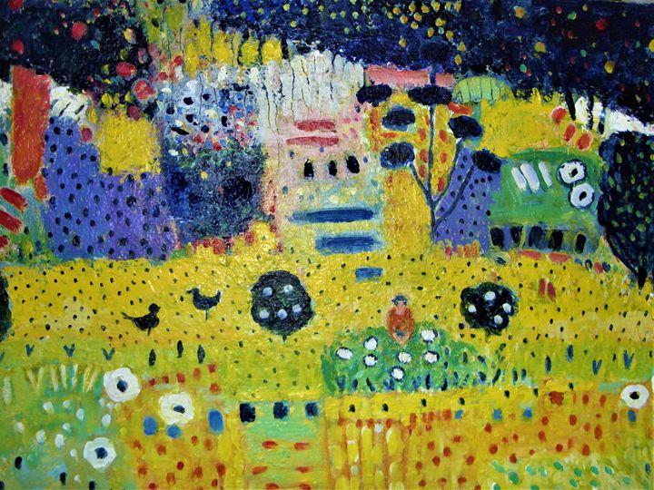 Summer Gold - Carolynchoiartstudio.com