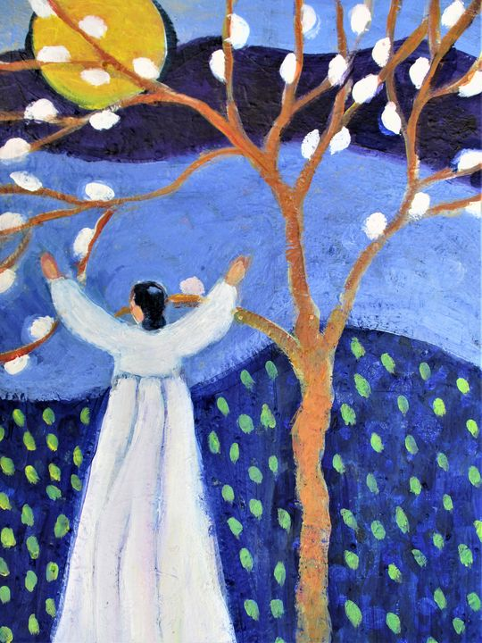 Spring Morning - Carolynchoiartstudio.com
